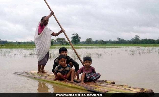 असम में बाढ़ के तांडव से चिंतित हुए जॉन अब्राहम, बोले-तत्काल सहायता की जरूरत है