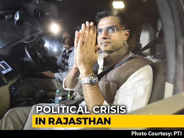 Video : Sachin Pilot In Talks With BJP, Claims Support Of 19 MLAs, Say Sources