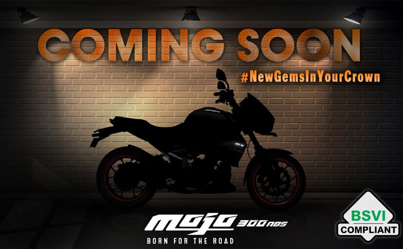 The Mahindra Mojo 300 ABS BS6 will go on sale in India in the coming weeks