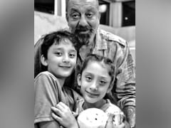 Sanjay Dutt's Daughter Iqra, 9, Bakes A Cake On His Birthday. See Pics