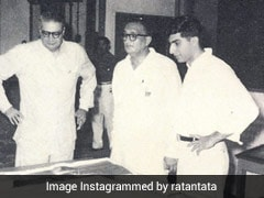 "Ratan Tata Remembers First Visit To ""Legacy City"" Named After Founder Of Tata Group"
