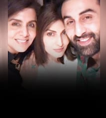 To Neetu Kapoor On Her Birthday, With Love From Ranbir And Riddhima