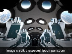First Look Inside Virgin Galactic's Spaceship Cabin For The Very Rich