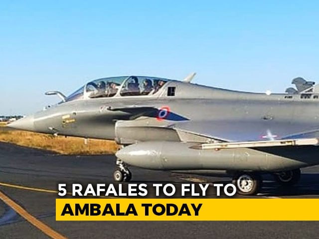 Video : Prohibitory Orders Imposed Near Ambala Air Base Ahead Of Rafales' Arrival