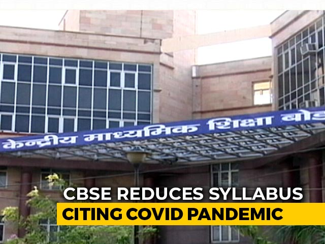 Video : CBSE Cuts Chapters On Secularism, Rights