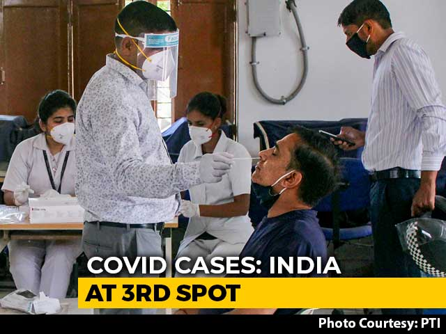 Video : India Overtakes Russia As Third Worst-Hit Nation In Coronavirus Tally