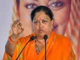 Video : Vasundhara Raje To Attend Key BJP Meet Tomorrow Amid Congress Crisis