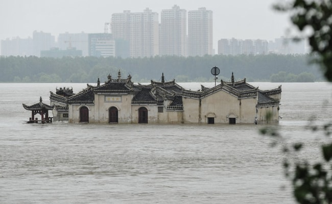 China Blows Up Dam In Eastern Province To Ease Flood Risk