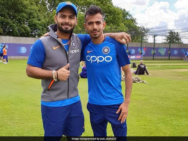 Yuzvendra Chahal Teases Rishabh Pant With Hilarious Throwback Workout Video. Watch