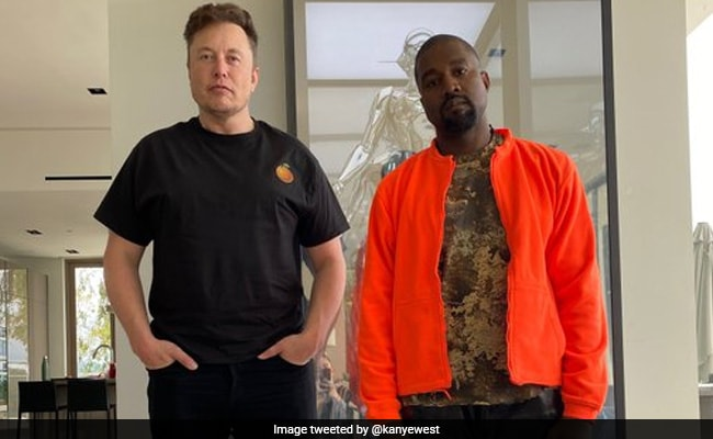 Can You Spot The Third Person In This Pic Of Elon Musk And Kanye West?