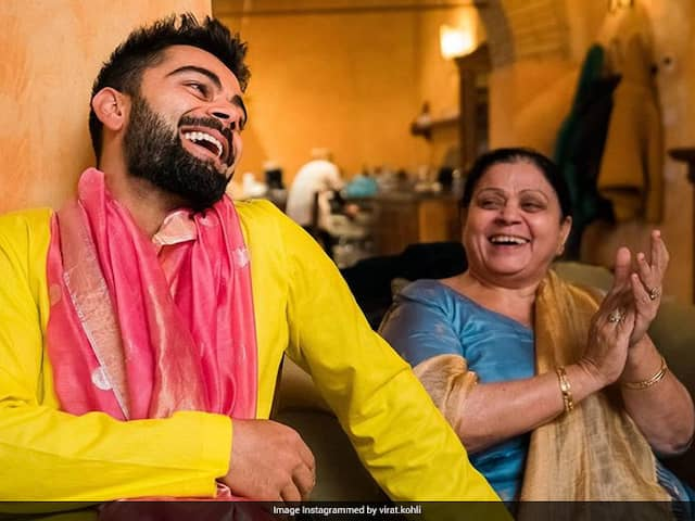 Virat Kohli Says Had To Convince Mom Hes Not Sick Following Fitness Regime