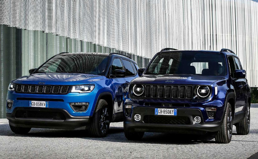 The Jeep Compass 4xe and Renegade 4xe have a full electric range of 50 km.