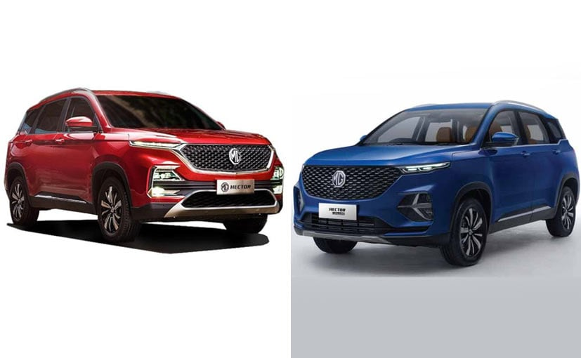 MG says it is seeing good response for the Hector Plus in India so far