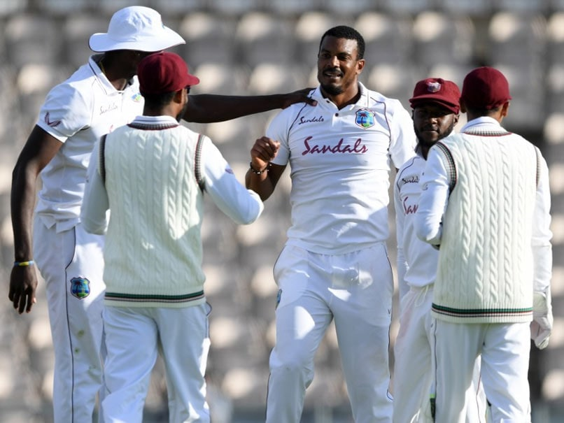 West Indies build lead over England in first Test