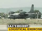 Video : Srinagar Air Base Turns Into Logistics Hub Amid Tension In Ladakh