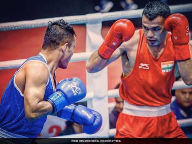 """I Am Destined To Win An Olympic Medal,"" Says Boxer Vikas Krishan"
