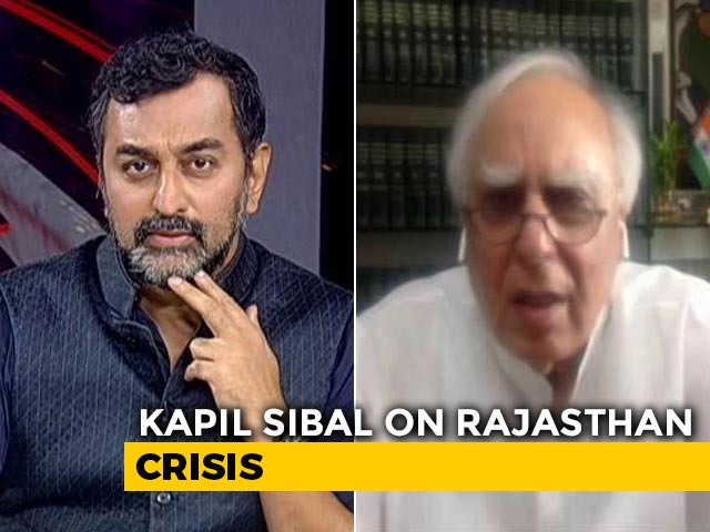 Video : Governor Can't Withhold An Assembly Session, Says Congress' Kapil Sibal