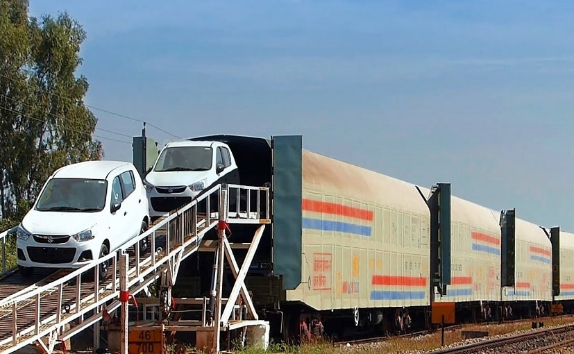 In 2020-21, over 1.8 lakh vehicles were transported using railways facility.