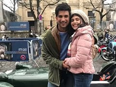 """Pics From <I>Dil Bechara</i> Co-Stars Sanjana Sanghi And Sushant Singh Rajput's """"Dreamy Days In Paris"""""""