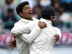 """Have To Take Five"": Kumbles Message For Kuldeep Yadav Before Test Debut"