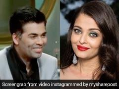 अक्षय कुमार ने Aishwarya Rai की वजह से यूं लगाई करण जौहर की क्लास, देखें Video