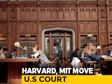 Video : Harvard, MIT Sue Trump Administration Over Student Visa Row