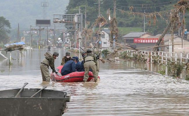 16 Dead In Japan As Heavy Rain Triggers Floods, Mudslides