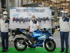 Suzuki Motorcycle India Rolls Out 5 Millionth Unit From Its Gurugram Plant