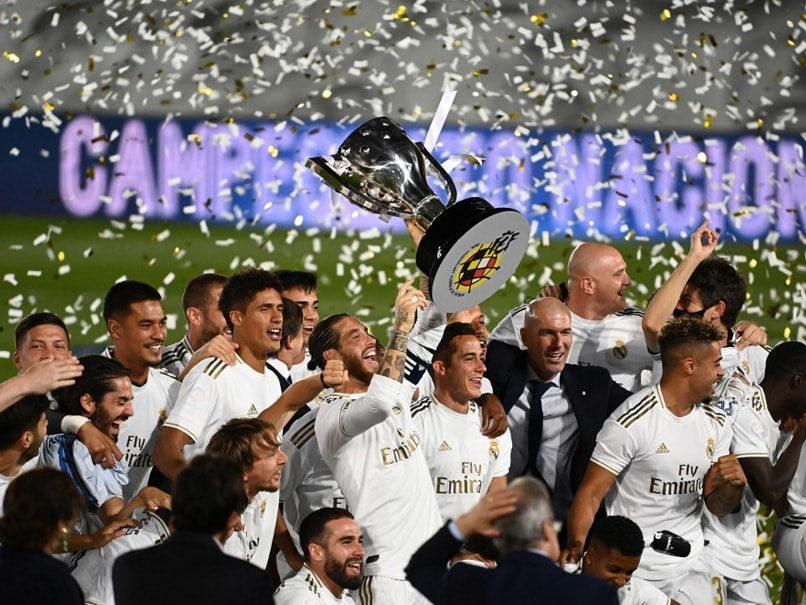 Real Madrid Clinch 34th La Liga Title With Game To Spare
