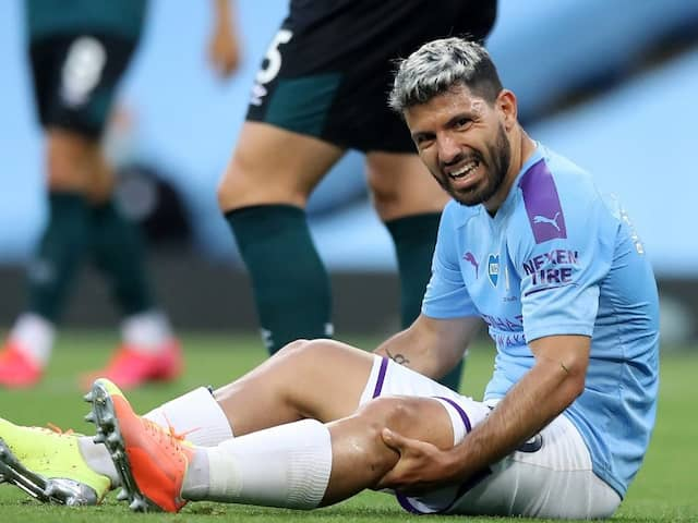 Champions League: Pep Guardiola Expects Sergio Aguero To Miss Real Madrid Clash