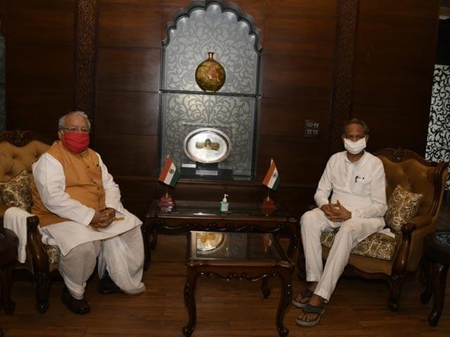 Video : Ashok Gehlot Meets Governor, BJP Ready To Seek Trust Vote