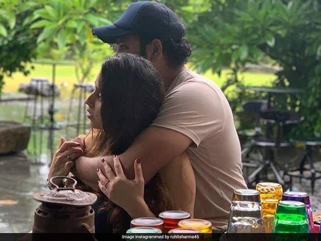 """Love Your Cheeks"": Yuvraj Singh Teases Rohit Sharma On Adorable Photo With Ritika Sajdeh"