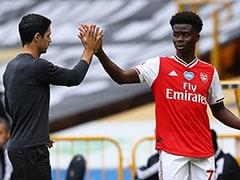 Bukayo Saka's First Premier League Goal Keeps Arsenal In Euro Race