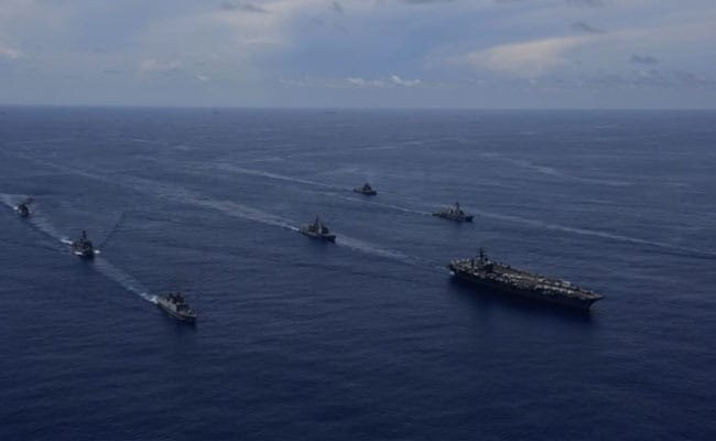 With Eye On China, Indian, US Navies In Joint Exercises In Bay Of Bengal