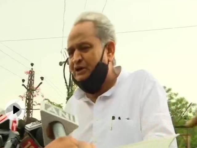 CM गहलोत ने बागी विधायकों के विकास कार्य नहीं होने के दावे को किया खारिज, बोले- बाड़ेबंदी में बैठे हैं तो...