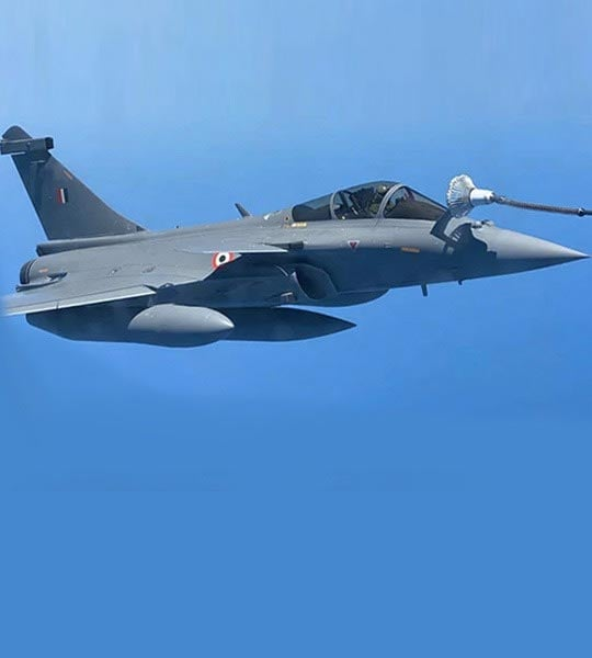 """Welcome To Indian Ocean"": Audio Of Navy Warship's Chat With Rafales"