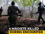 Video : 4 Maoists Killed In Encounter With Security Forces In Odisha