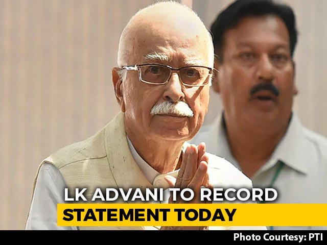 Video : LK Advani Likely To Record Statement Via Video In Babri Case Today