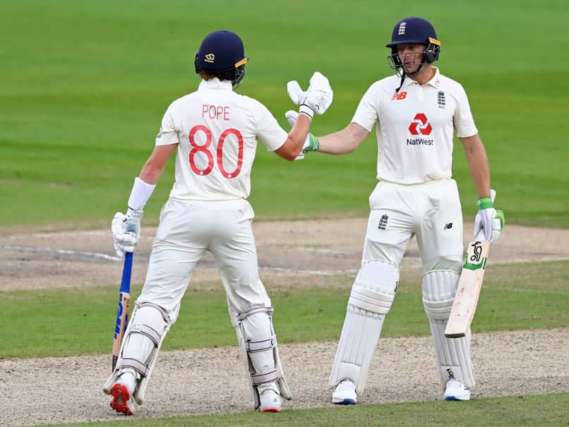 3rd Test: Ollie Pope, Jos Buttlers Unbeaten Fifties Help England End Day 1 On Top