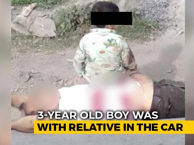 Video : Boy, 3, Survives J&K Terror Attack, Pics Show Him Near Grandfather's Body