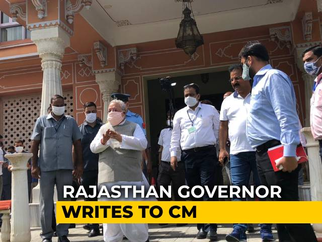 """Video : """"Who Should I Speak To For My Safety"""": Governor Writes To Ashok Gehlot"""