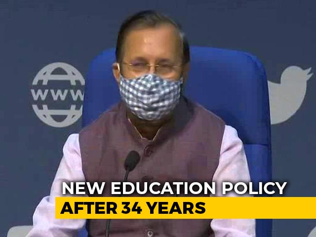 Video : Cabinet Approves New Education Policy, Renames Ministry