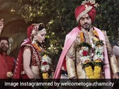 उर्वशी रौतेला ने गौतम गुलाटी संग रचाई शादी, Photos शेयर कर एक्टर बोले- शादी मुबारक नहीं बोलोगे?