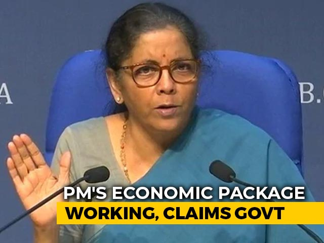 Video : Stimulus Package Has Made Big Difference To Companies, Amid Lockdown: Nirmala Sitharaman