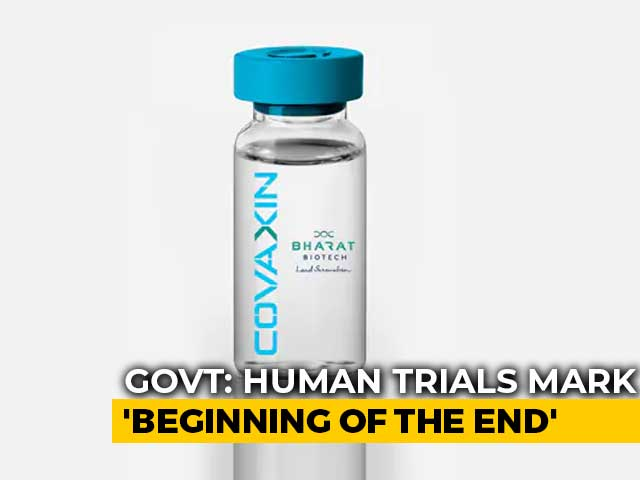 Video: India's COVID-19 Vaccine Trial 'Marks Beginning Of The End': Centre