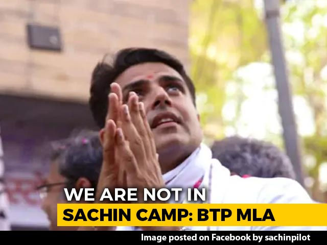 """Video : """"Not In Sachin Pilot Camp,"""" Says Rajasthan Party MLA To NDTV"""
