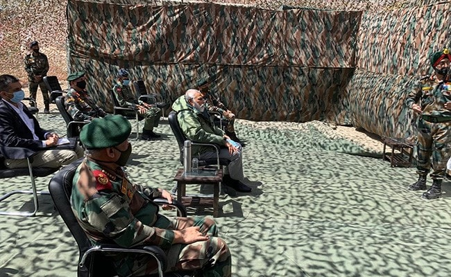 PM In Leh To Review Situation After June 15 Ladakh Clash With China