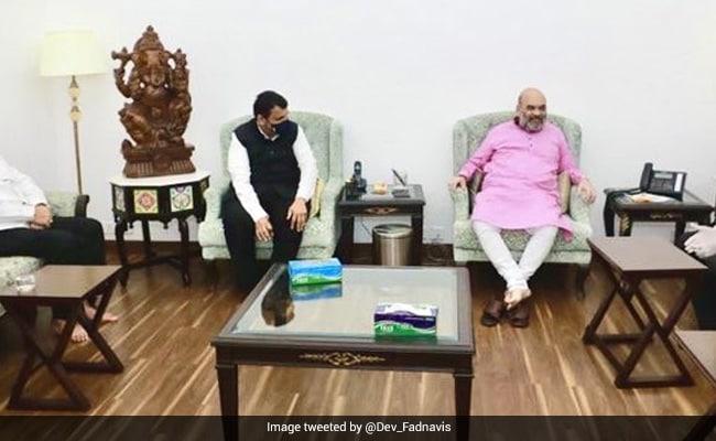 Devendra Fadnavis Meets Amit Shah, Says 'No Operation Lotus In Maharashtra'