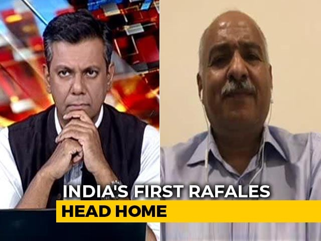 """Video : """"Was Sure We Had Done Nothing Wrong"""": Ex-Air Force Officer On Rafale"""