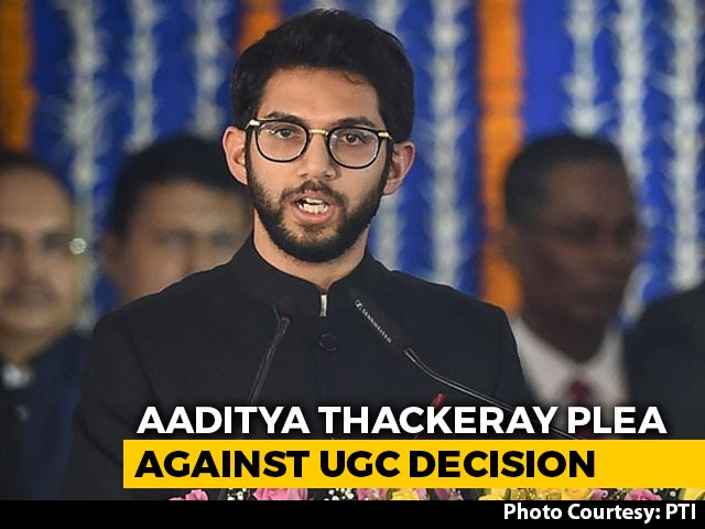 Video : Aaditya Thackeray Moves Supreme Court Against Final Year Exams Decision